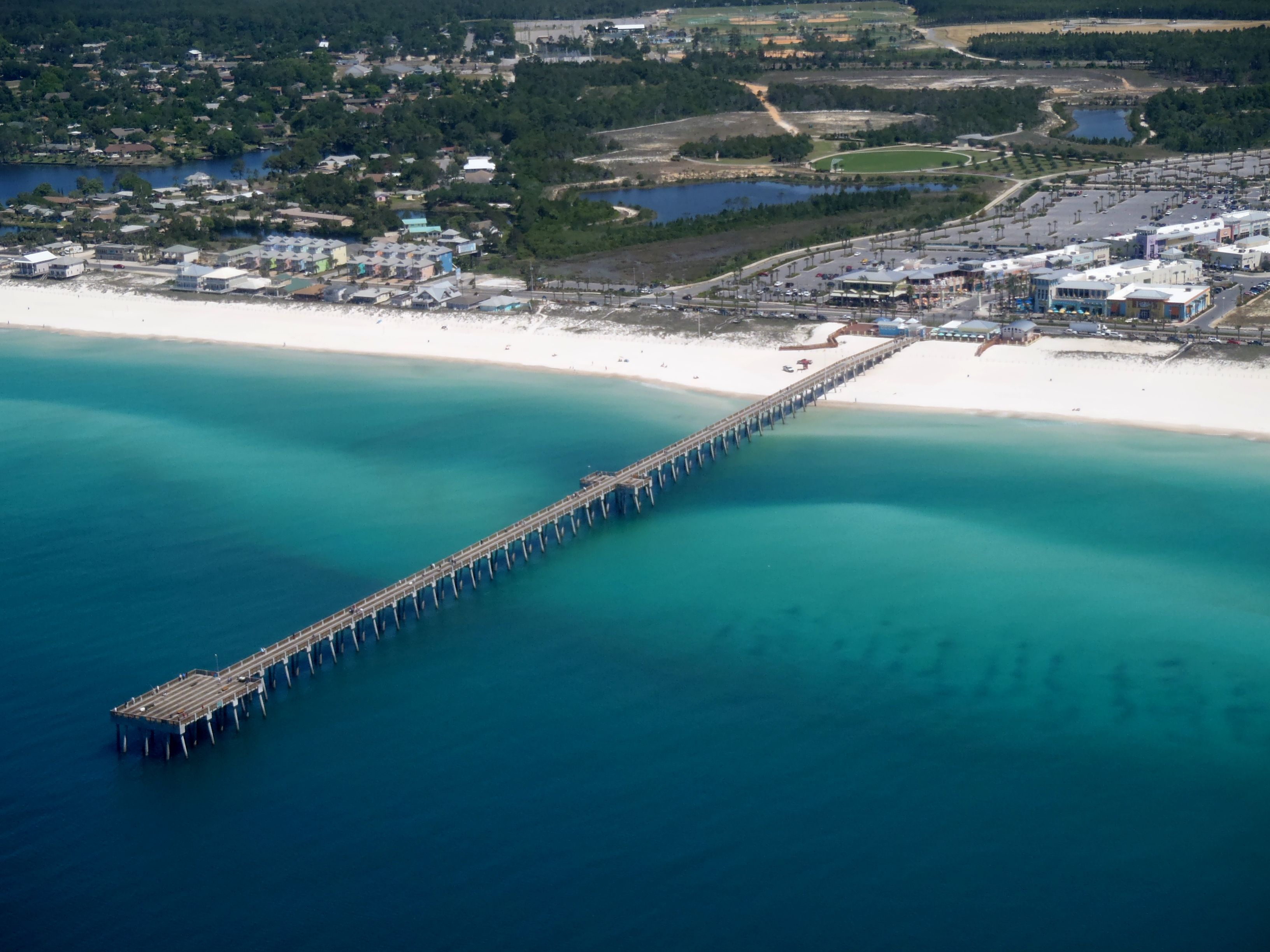 M b miller county pier offering fantastic fishing and for Fishing resorts in florida