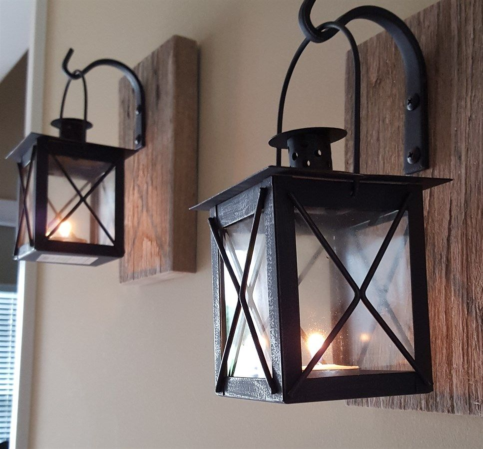sconces hardwired clearance wall farmhouse sconce full rustic candle holder switch indoor lowes lantern lights size with of sale