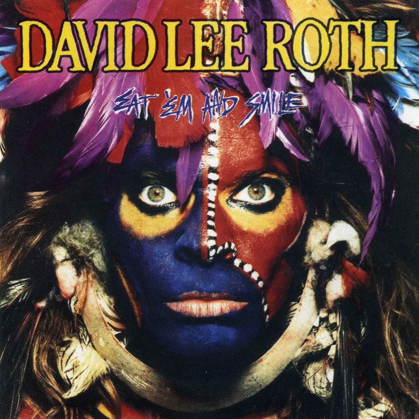 David Lee Roth Eat Em And Smile 1986 David Lee Roth David Lee Album Cover Art