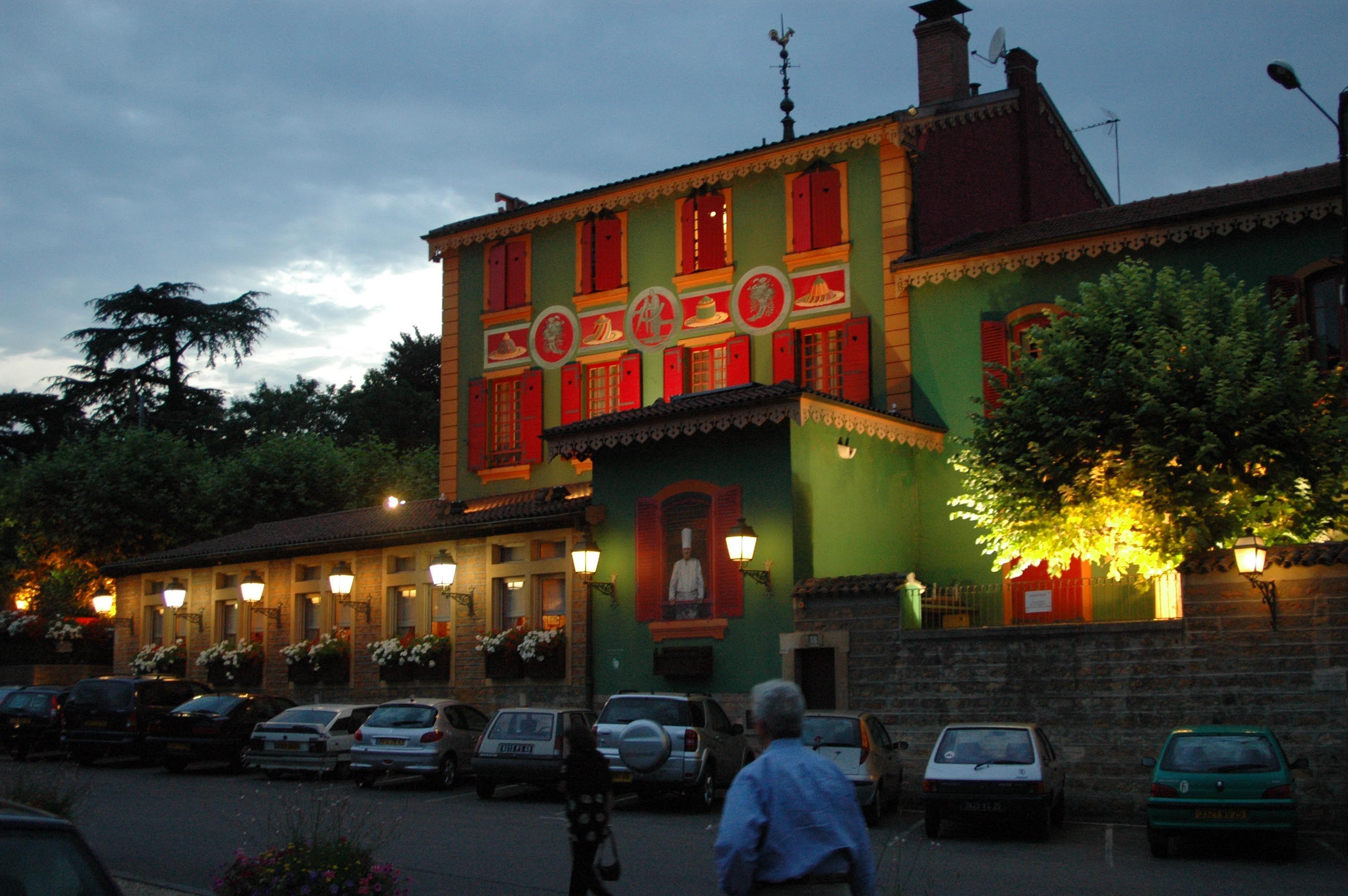 Restaurant Paul Bocuse in Lyon France..... oh so delicious!!