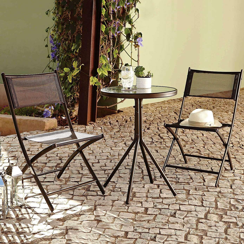 Oslo Two Seater Bistro Garden Furniture Set   Dunelm £30 ...