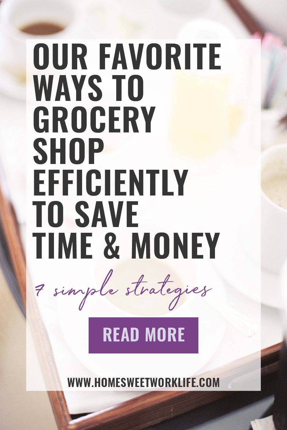 How to Grocery Shop Efficiently in 2020 Grocery shop