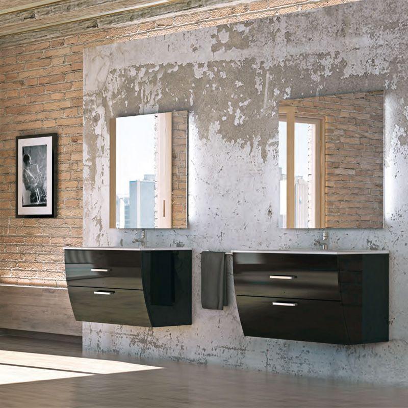 Muebles De Baño Wave:mueble de baño Wave tiene un diseño muy innovador y practico, para