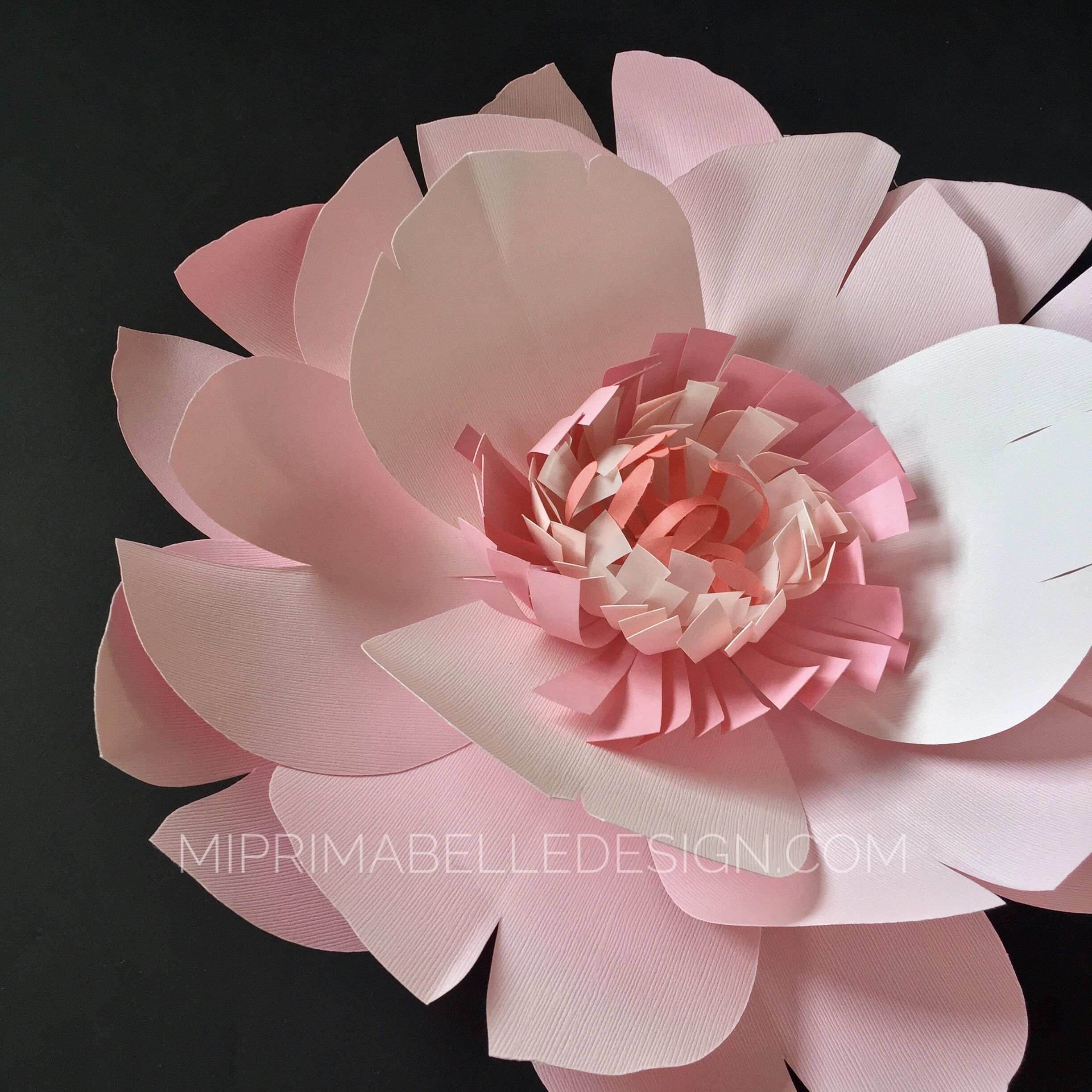 MI PRIMA BELLE paper flowers are all customizable See more at