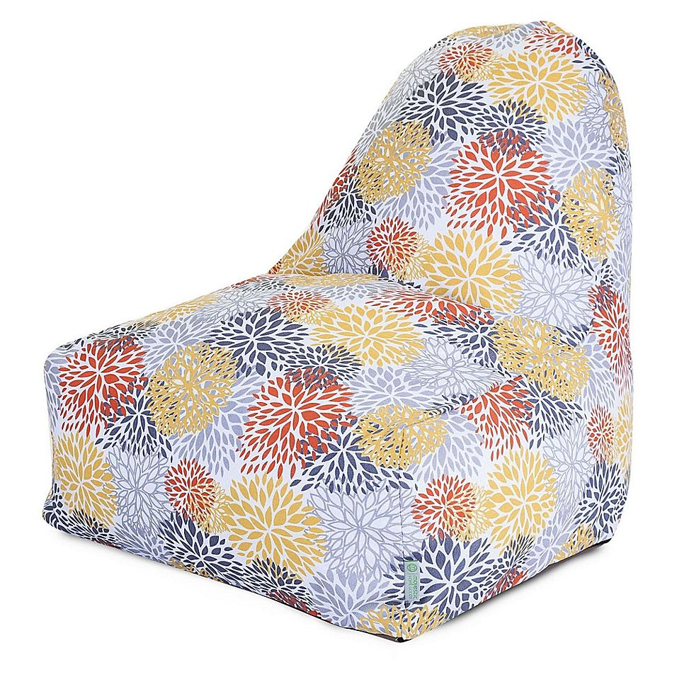 Majestic home goods blooms bean bag kickit chair in
