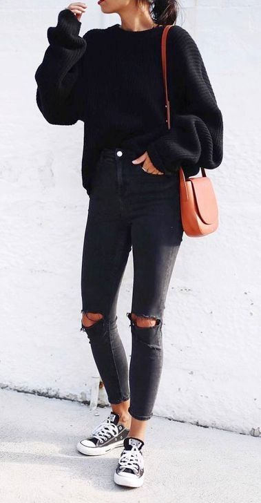 48 Unordinary Women Black Jeans Outfits Ideas For Spring And Summer In