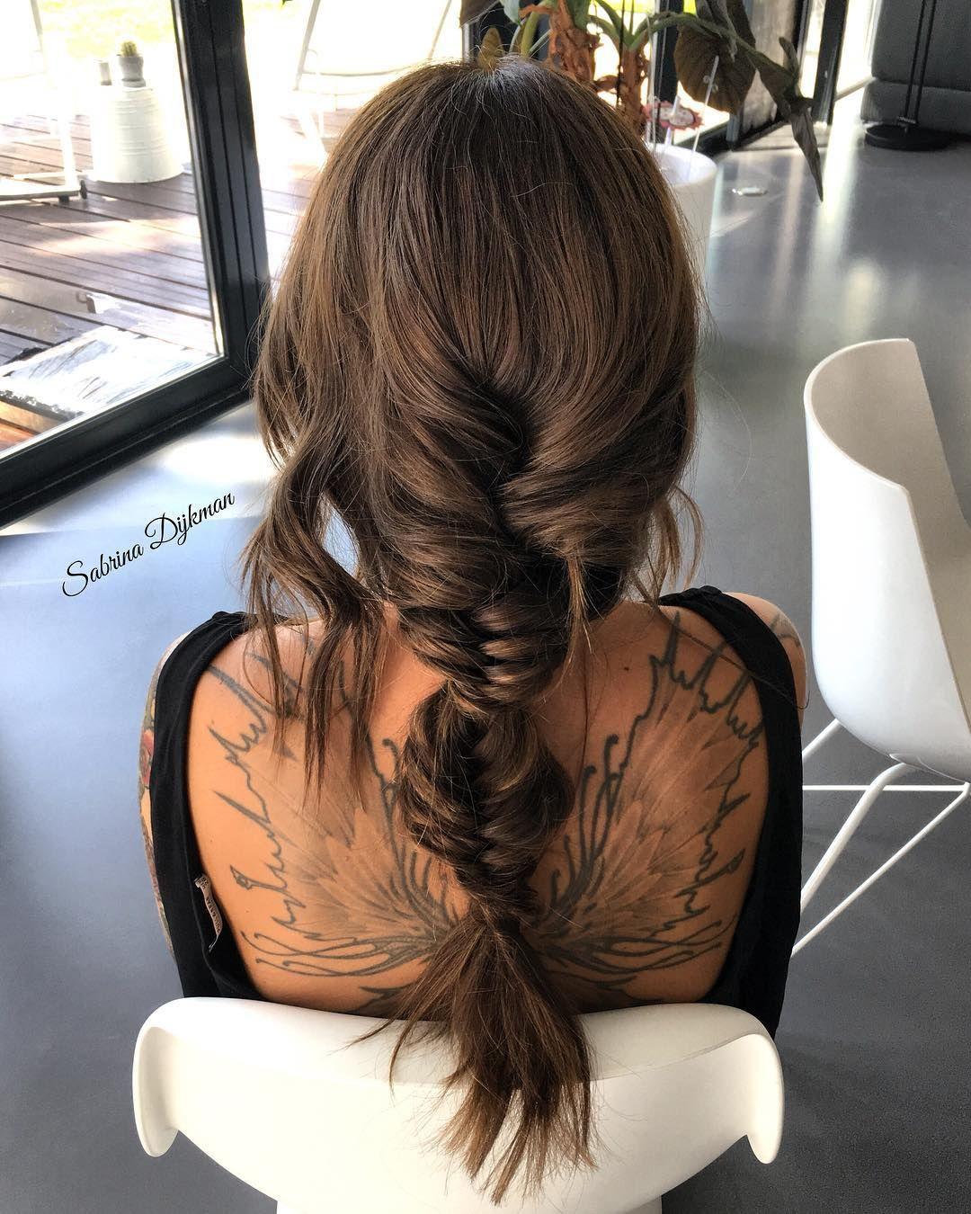 Beautiful Boho Braids Hairstyle, fishtail braids ,braids ,boho braid, braid hairstyle