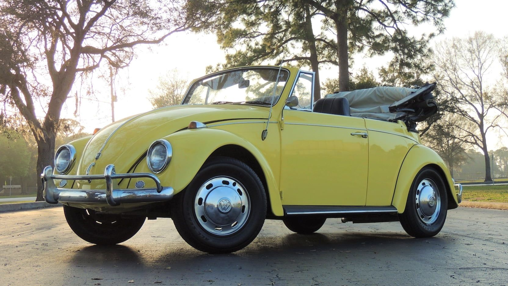 1967 Volkswagen Beetle Convertible Presented As Lot T168