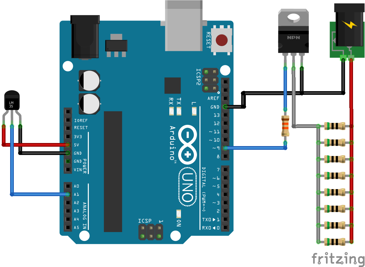how to build a heater with arduino part 2 domotique pi ces arduino diagramme [ 1188 x 870 Pixel ]