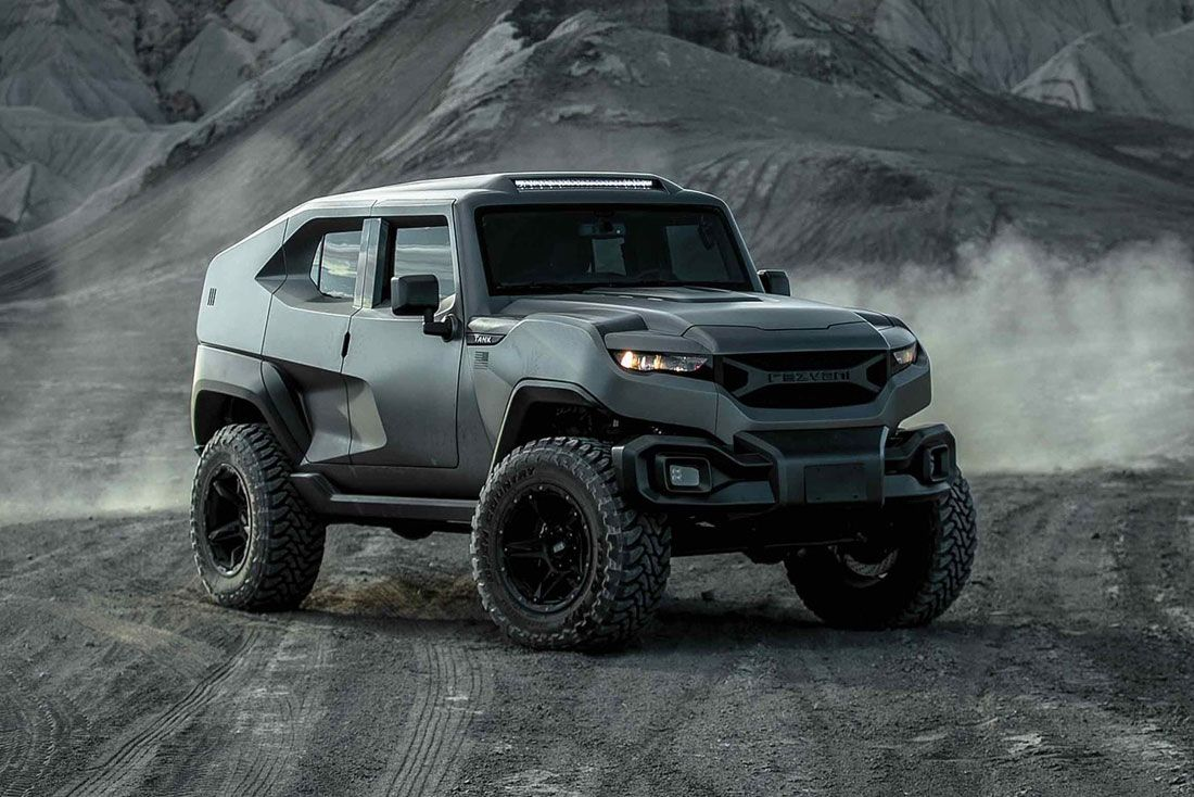 Rezvani Tank X Is The Tactical Vehicle That Go Beyond Any