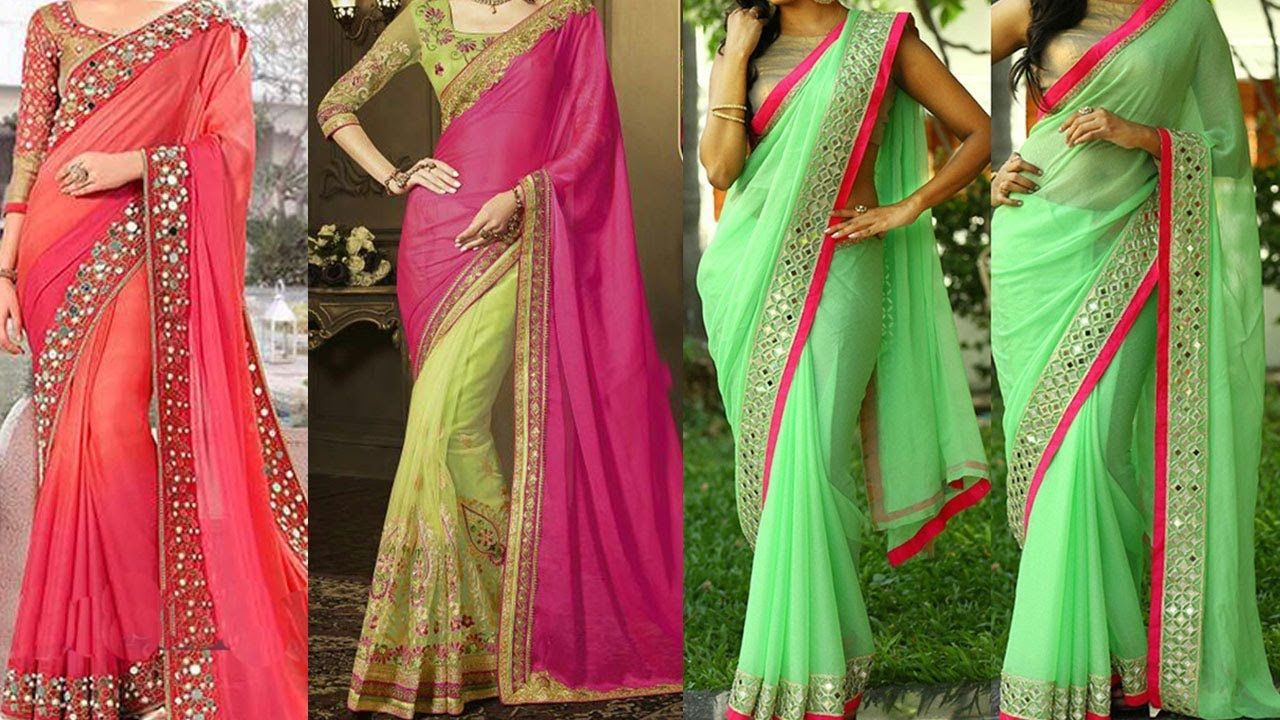 #saree #sari #sareedrapingstyles #howtowearsaree #sareedrapingtutorial #sareedraping - 5 Gorgeous Ways Of Wearing Saree to Look Slim & Tall with Thin Perfect Pleats | Saree Draping Styles