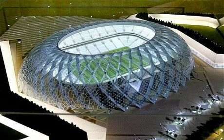 Qatar World Cup In 2022 Could Cost 138 Billion According To Financial Analyst Qatar World Cup Stadiums Stadium Architecture World Cup Stadiums