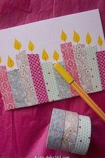 Luxuriöse Geburtstagskarte #weihnachtskartenbastelnmitkindern