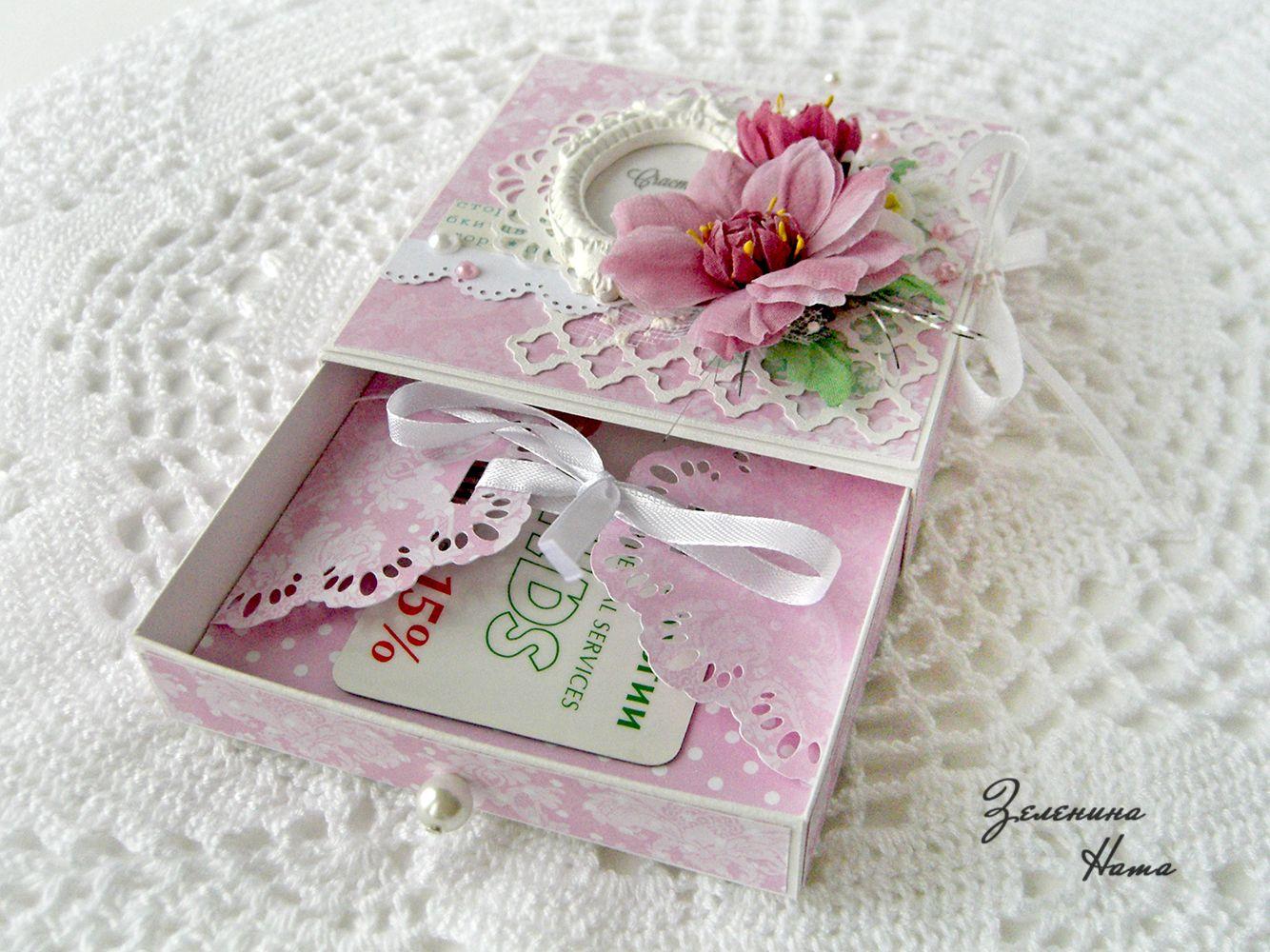 Дюймовочкой, коробочка открытка подарок