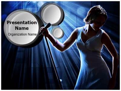 Karaoke singer powerpoint template is one of the best powerpoint karaoke singer powerpoint template is one of the best powerpoint templates by editabletemplates toneelgroepblik Images