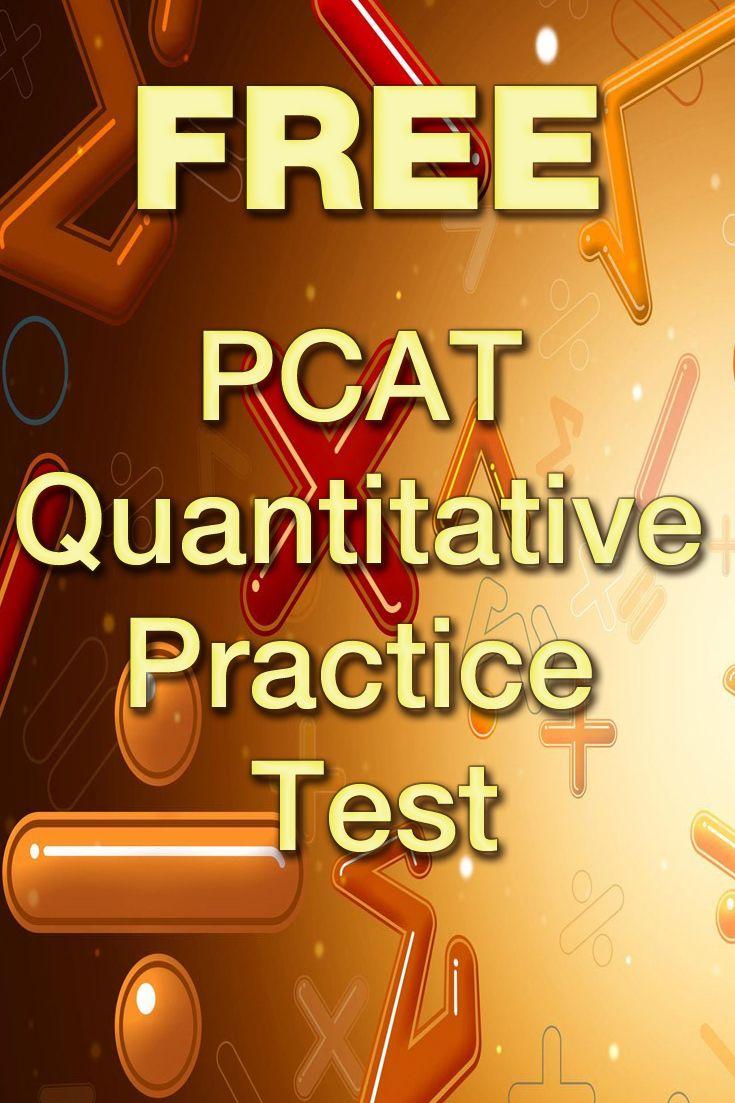 Free PCAT Quantitative Practice Test http://www.mometrix.com/academy ...