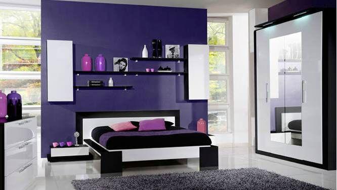 Mur accent rose chambre ado une chambre glamour tr s - Mur chambre ado ...