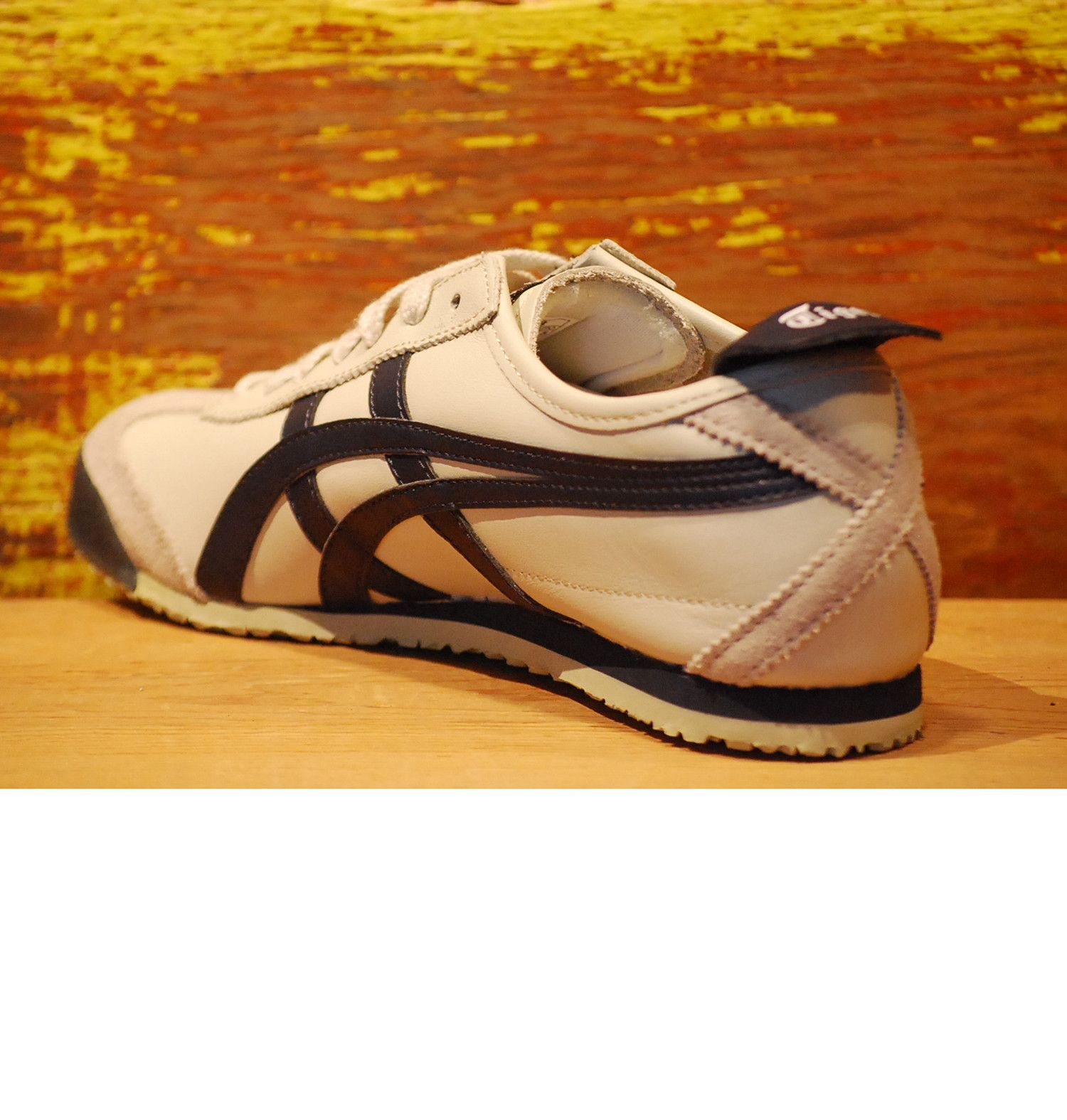 promo code 532f9 5fa35 Onitsuka Tiger Mexico 66 Sneaker in Birch Latte and Indian ...