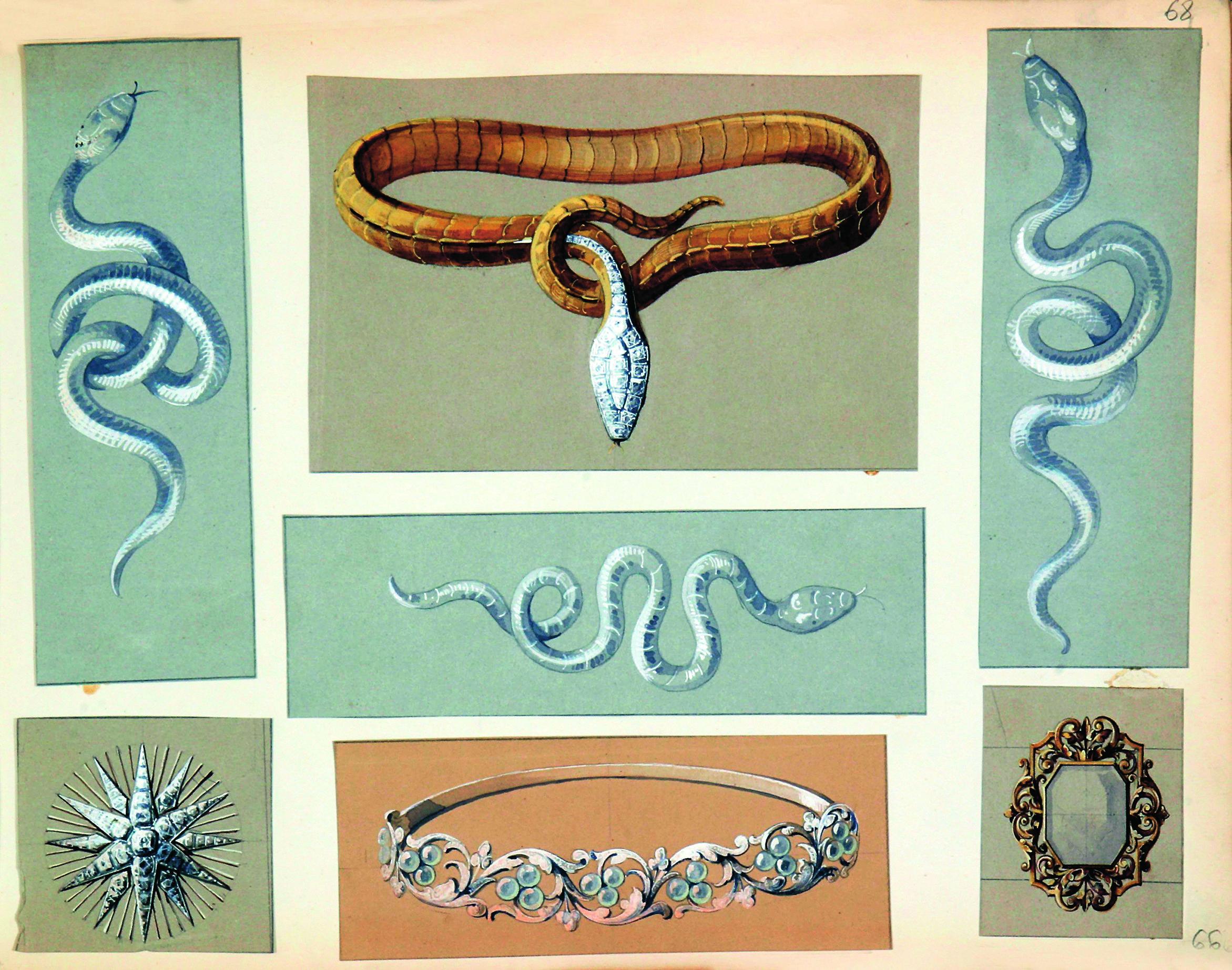 Serpent Opalescent - Inspirations. boucheron.