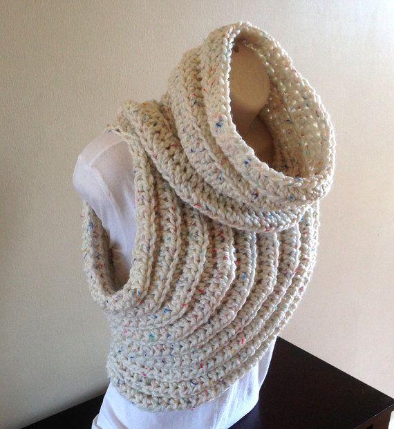 Cross Body Cowl/Archer\'s Sweater - Crochet Pattern -English/German ...