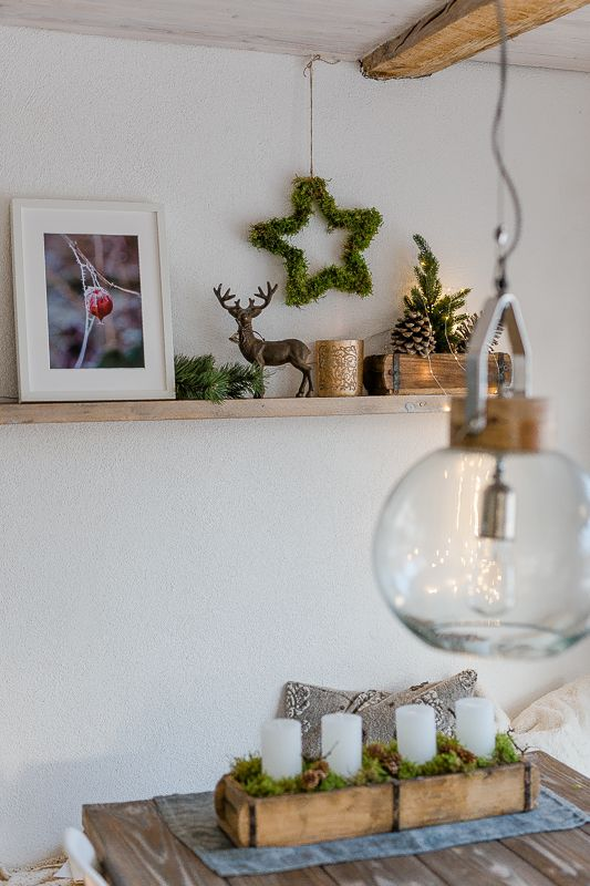 Photo of From deer, stars and other Christmas decorations or Friday Flowerday with a difference • Pomponetti