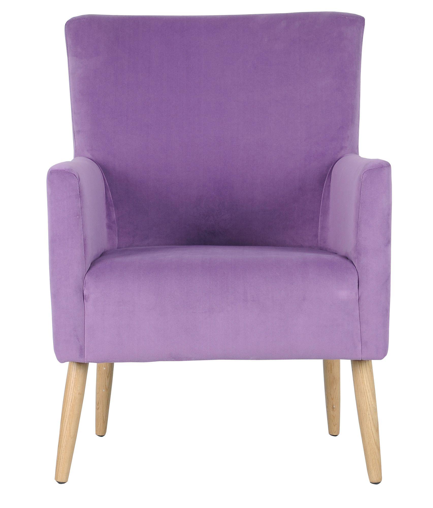 Spring 2018 Trend Lavender Darryl Purple Arm Chair