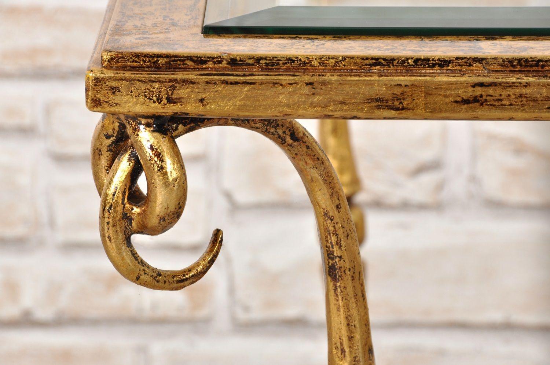 Pregiato tavolo da salotto in stile luigi xiv costruito in ferro