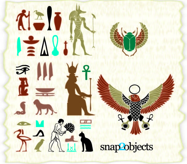Egyptian Ancient Culture Element Pack Egyptian Ancient Culture Element Pack Vector by Snap 2 Objects License Attribution ID 315872