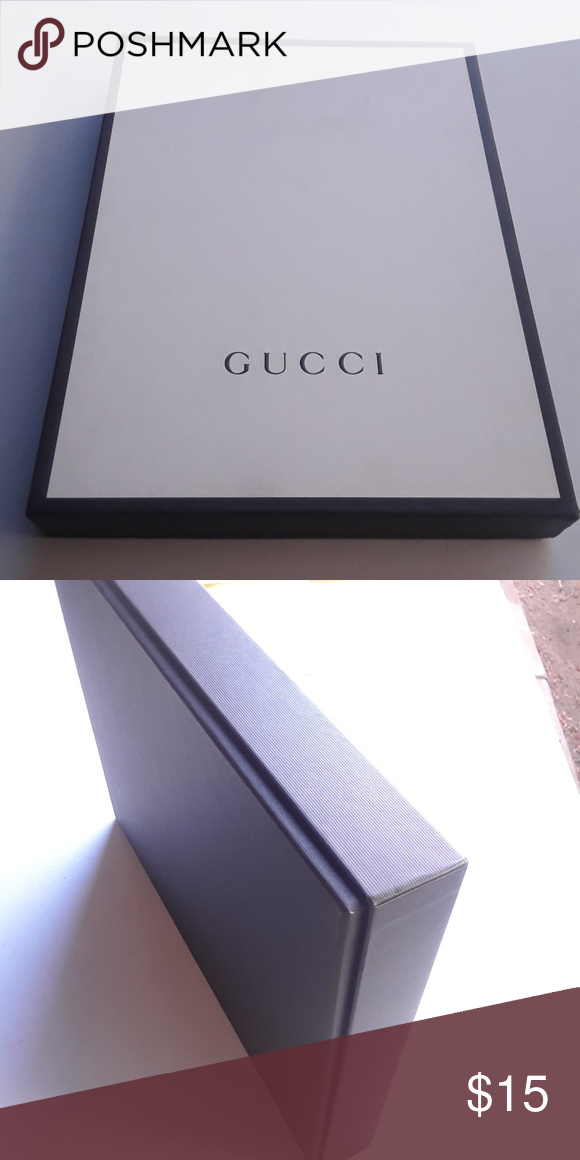 8ad4f836e Gucci Shirt Box Good condition. A couple of light smudges but not terrible.  Looks good. Gucci Other