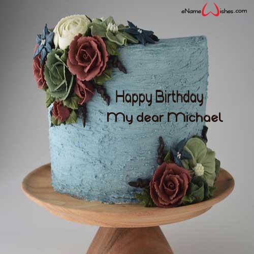 Unique Happy Birthday Cake with Name Happy birthday