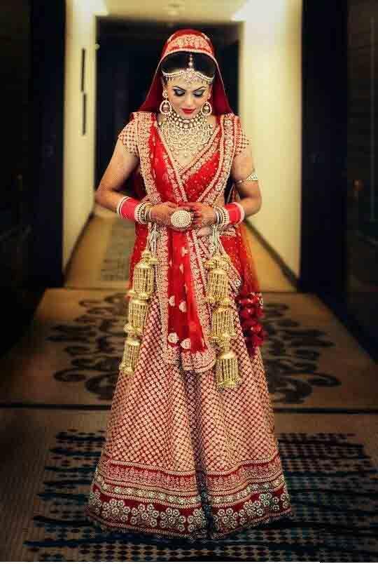 best bridal dupatta styles for wedding in 2018 indian
