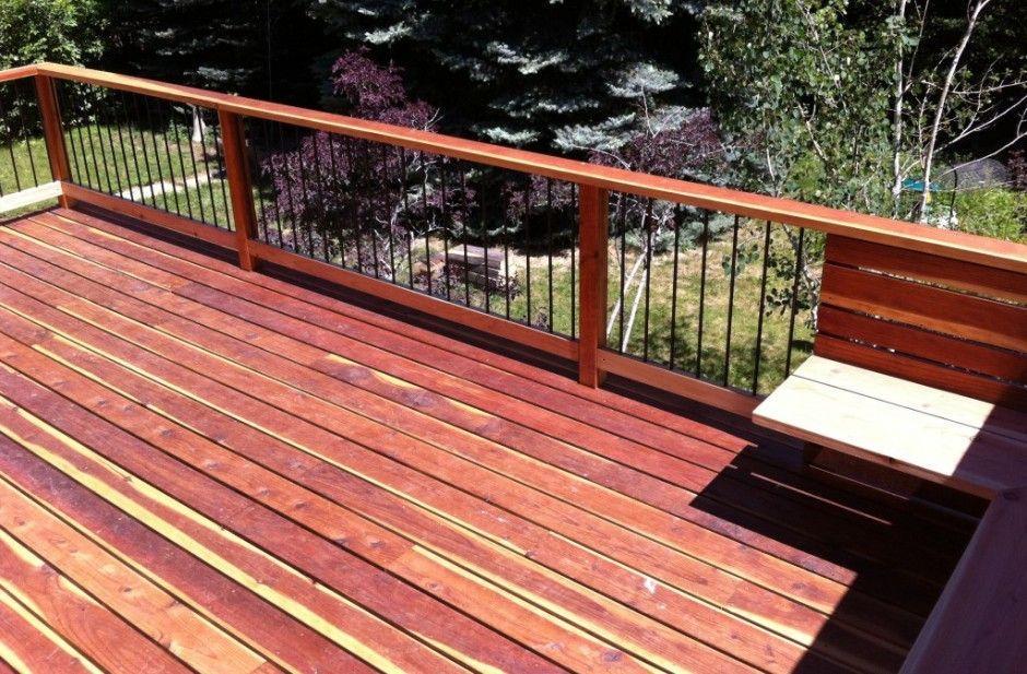Best Redwood Decks Pictures Redwood Deck In 2019 Deck 400 x 300