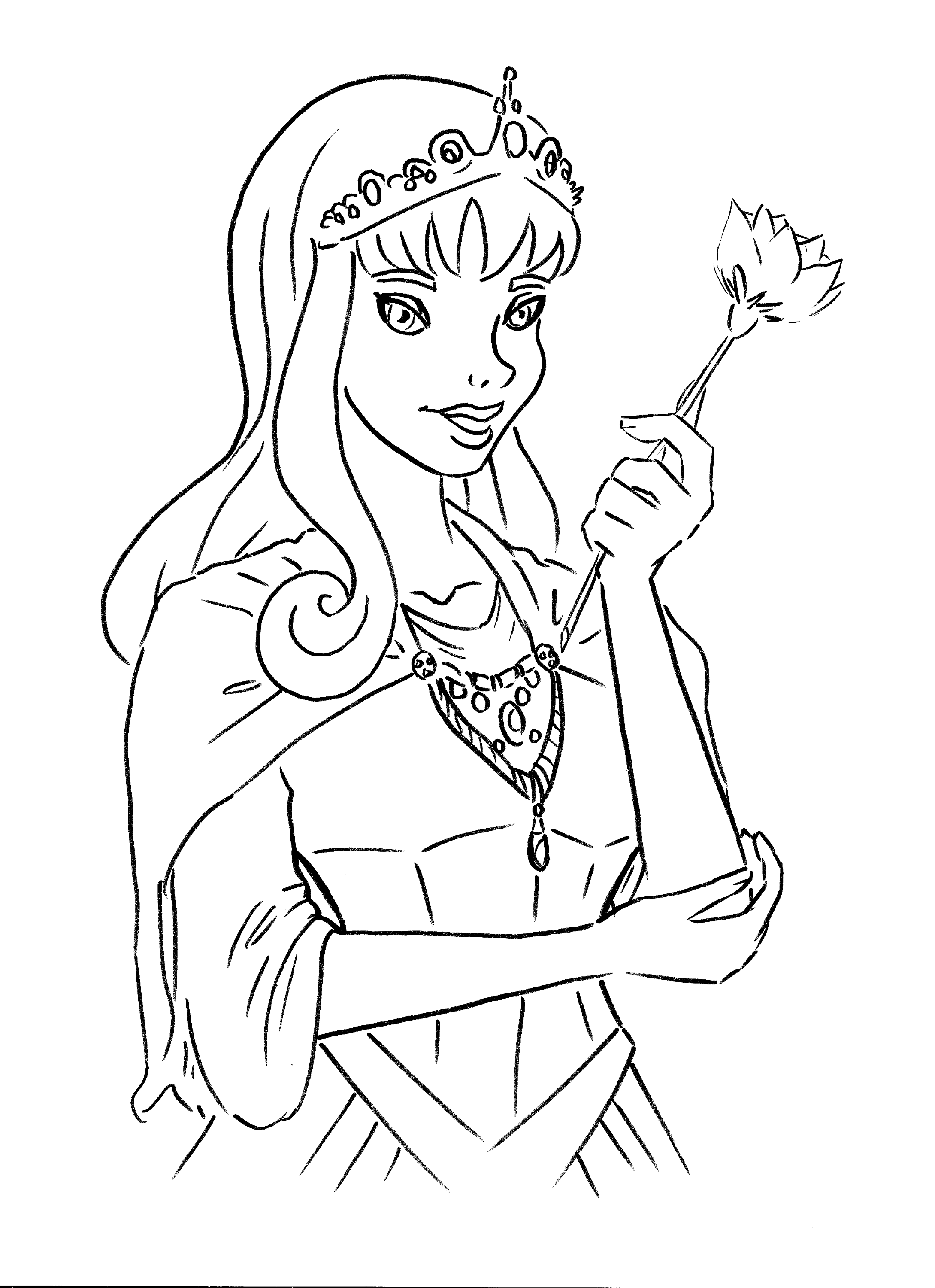 Princess coloring book pages printable - Princess Coloring Book Pages Printable Activity Shelter