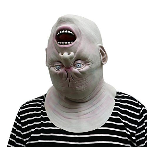 Woshishei 2017 Down Full Head Deluxe Novelty Halloween Scary Costume - halloween costumes scary ideas