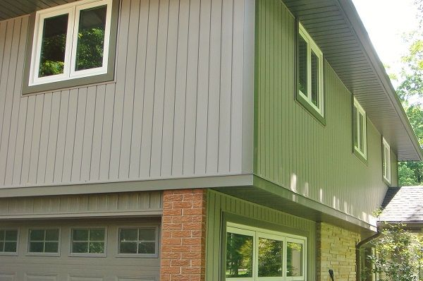 Vinyl Siding Storm Vertical V Match By Gentek Kaycan Cactus Aluminum Soffit Fascia And Trough Belt Line Window Trim Versatex Pvc Foundry