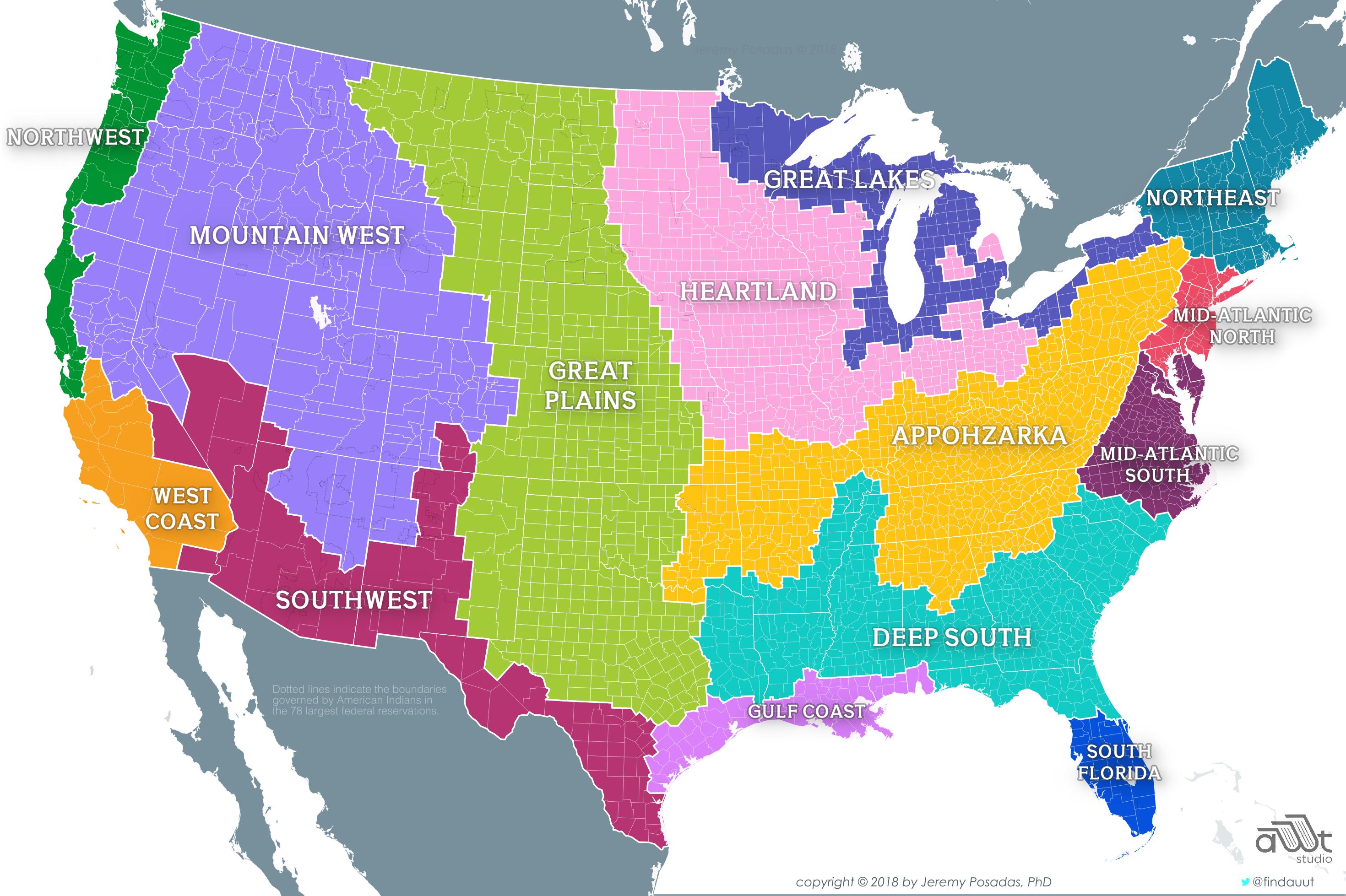 United Regions Of America