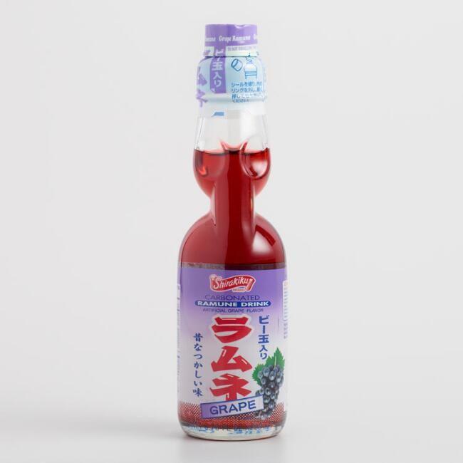 Ramune Grape Soda Grape Soda Grapes Japanese Food