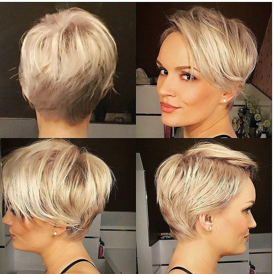 Fraulich Frisuren Fur Die Frau Kurze Haare Zuruck Stylen Kurzhaarfrisuren Coole Frisuren