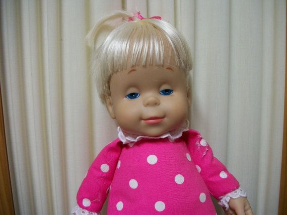 Mattel's Talking Drowsy doll...my first doll when I was a little girl
