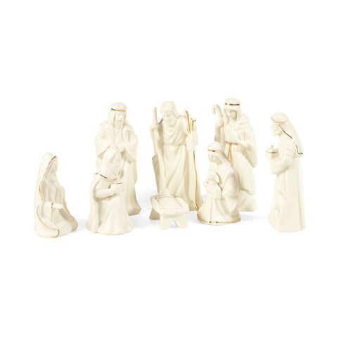 8 Piece Nativity Set Nativity Set White Nativity Set Holiday Decor Christmas