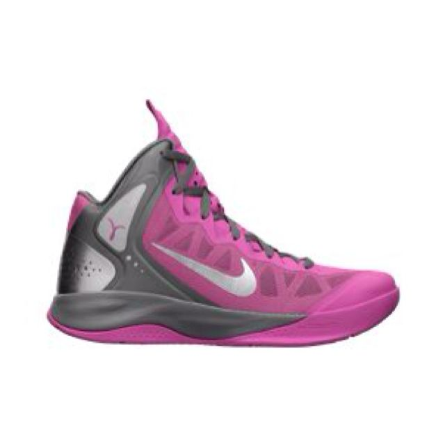Responsive support and comfort The Nike Zoom Hyperenforcer PE Women\u0027s Basketball  Shoe