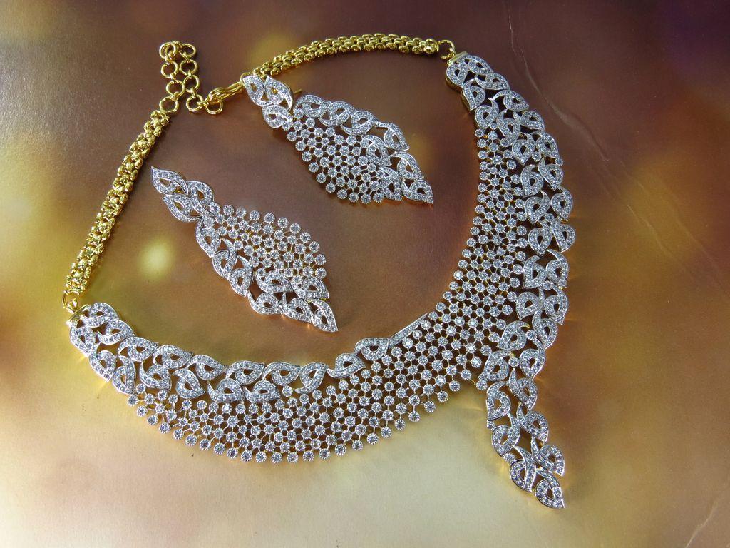 Wholesaler of american diamond jewellery to countries like UK, USA ...