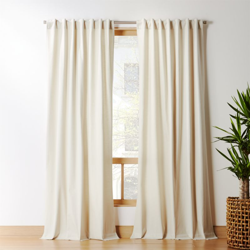 Natural Tan Basketweave Ii Curtain Panel Shabby Chic Living Room