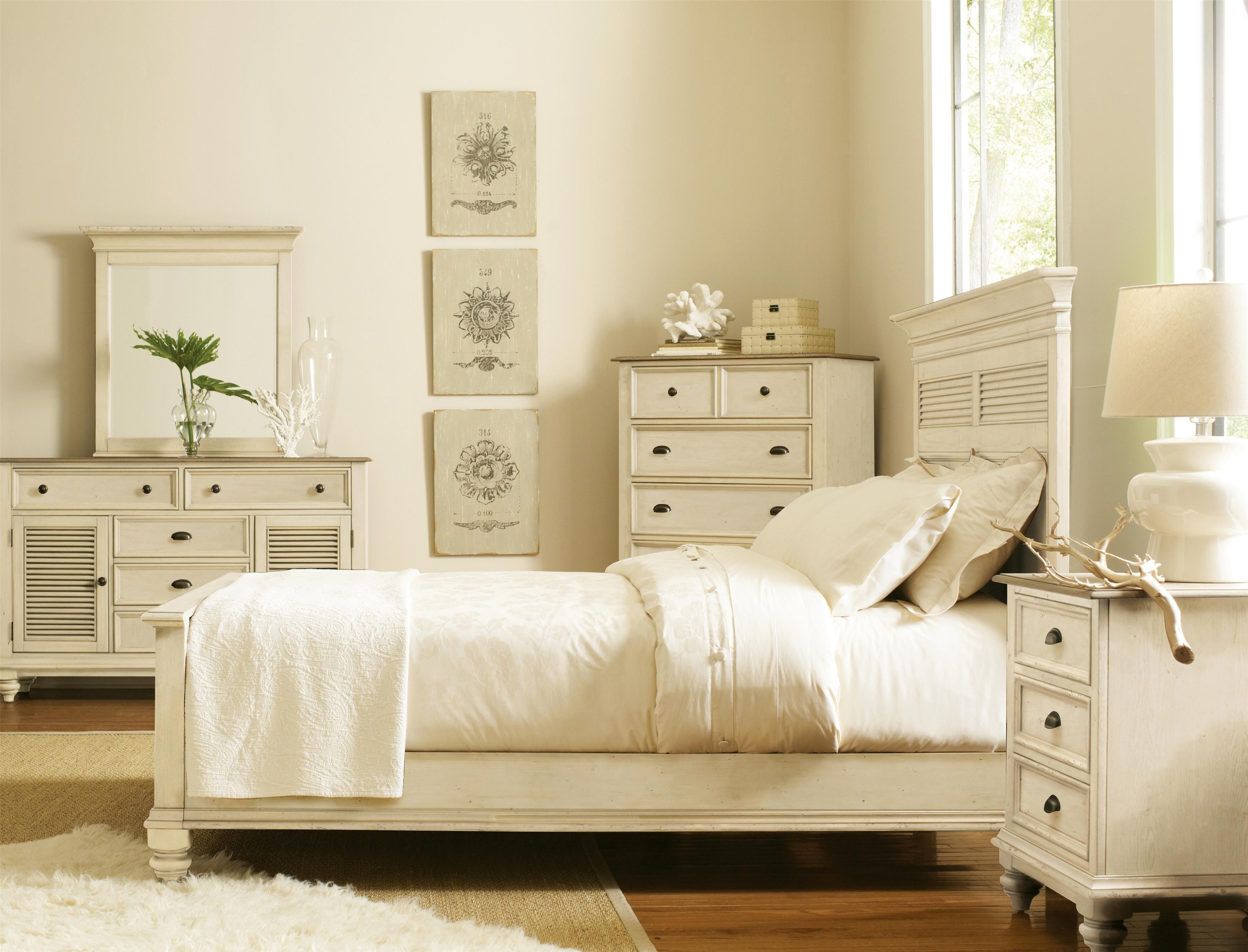 Coventry Two Tone Full Queen Bedroom Group By Riverside Furniture