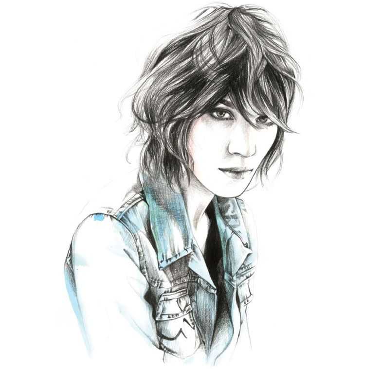Vanidad - #girl #illustration