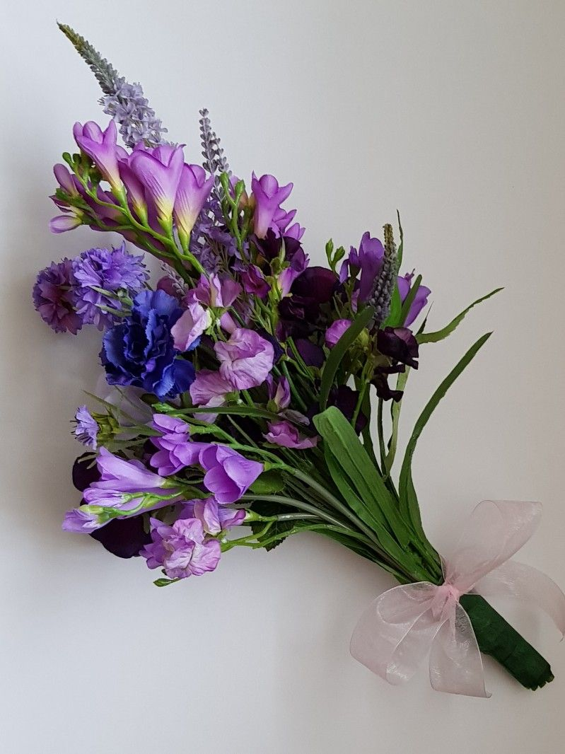 Summer Garden Bouquet Artificial flower bouquet, Flowers