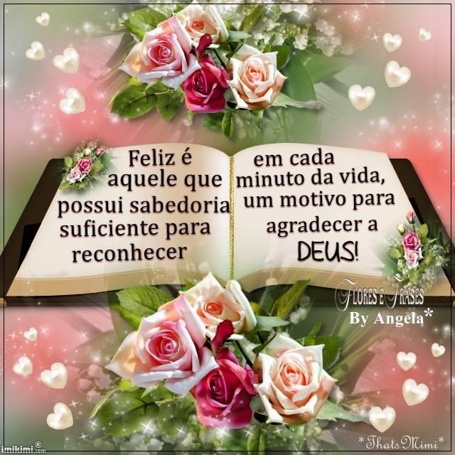 Flores E Frases Feliz é Aquele Que Possui Sabedoria