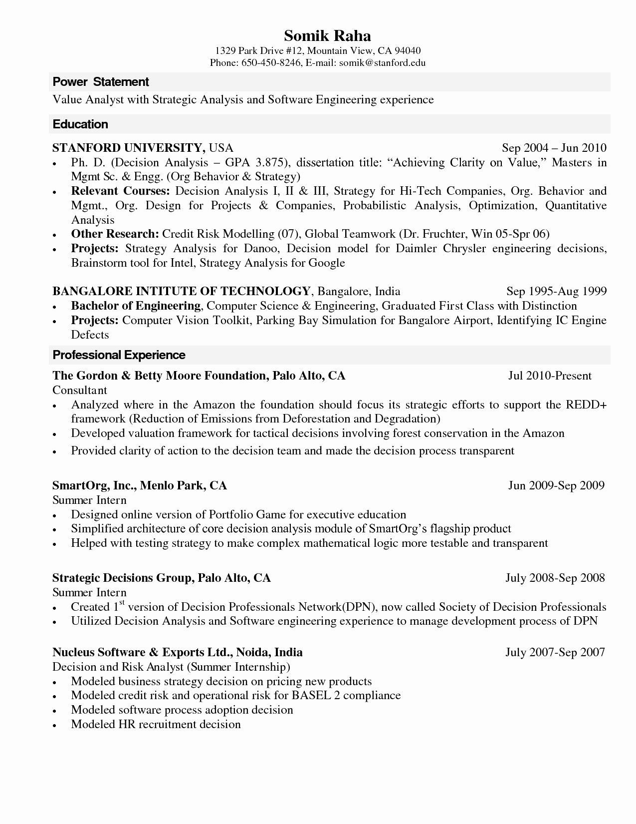 Advantages Of Engineering resume, Computer science