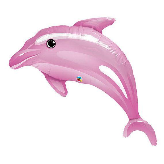 5 Blow Up Inflatable Dolphin Hawaiian Mermaid Pool Birthday Party Decorations