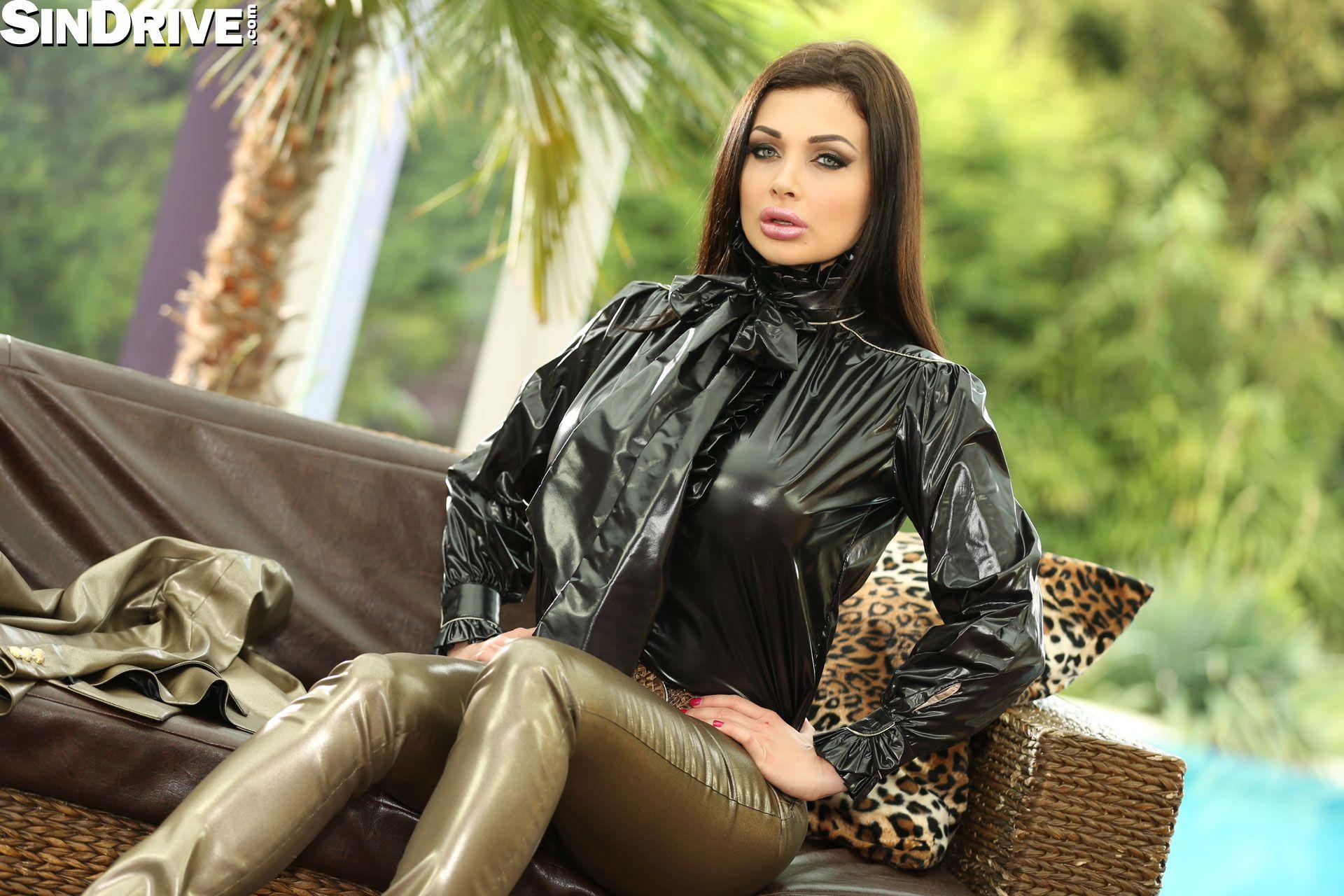Aletta Ocean   SatinBabes.com   Dramatic attire plastic